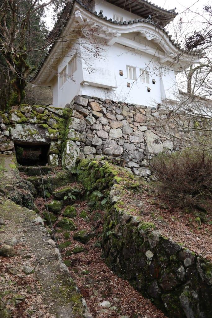 les ruines du château d'izushi