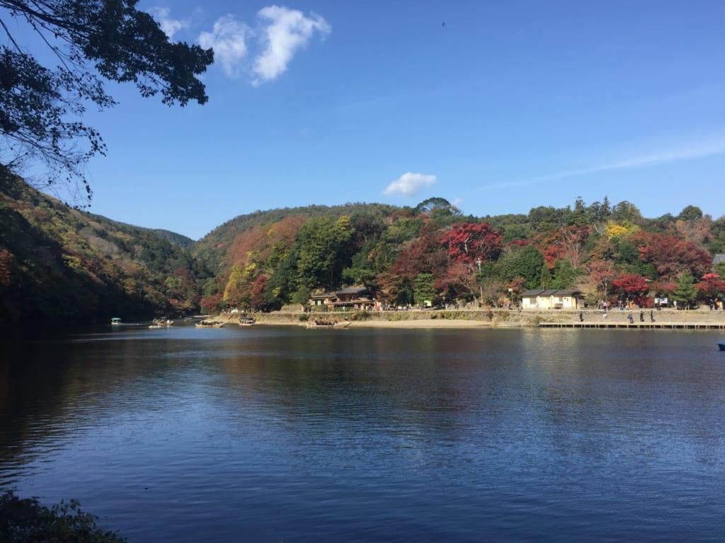 Arashiyama en automne