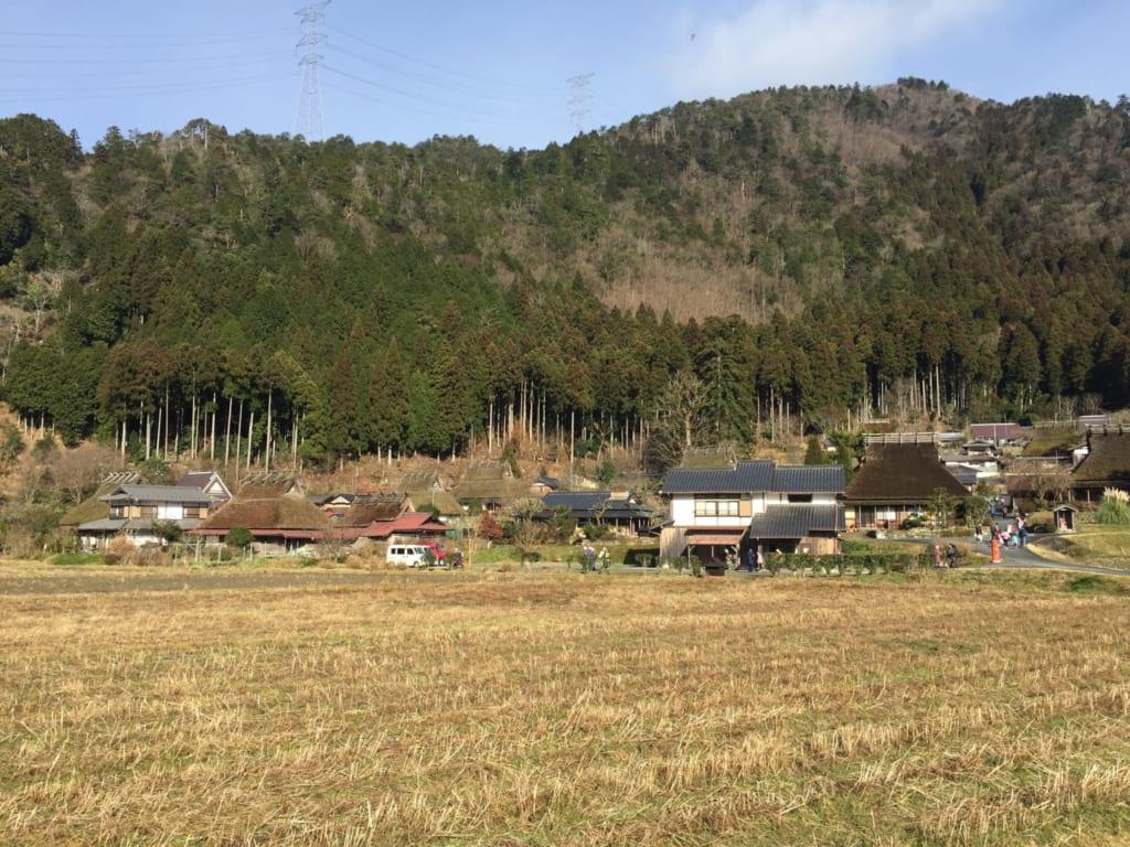 Le maisons de Kayabuki no sato