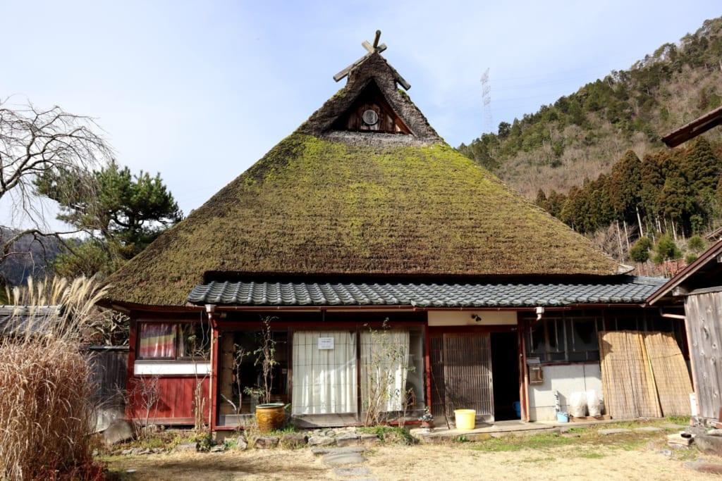 Le musée de l'indigo de kayabuki no sato