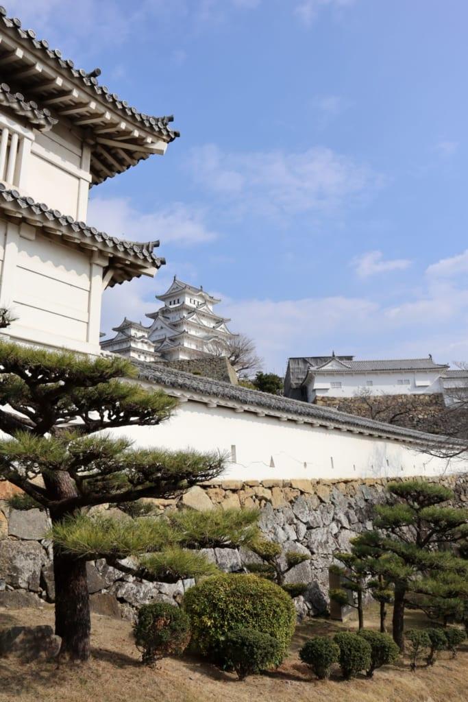 Le château de Himeji et ses alentours