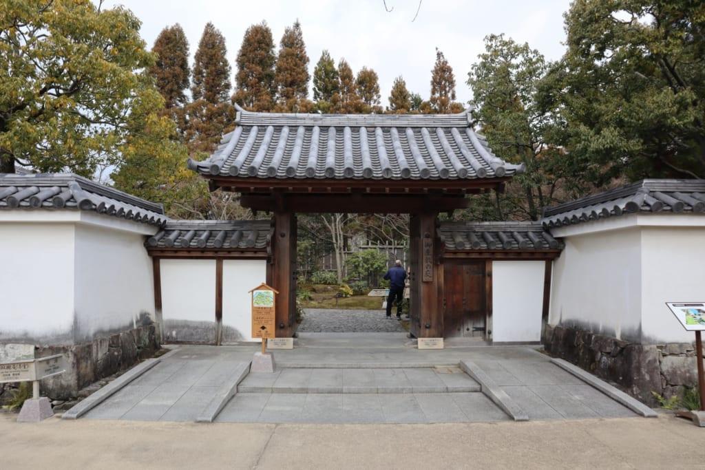 L'entrée du parc de Himeji, autour du château de Himeji
