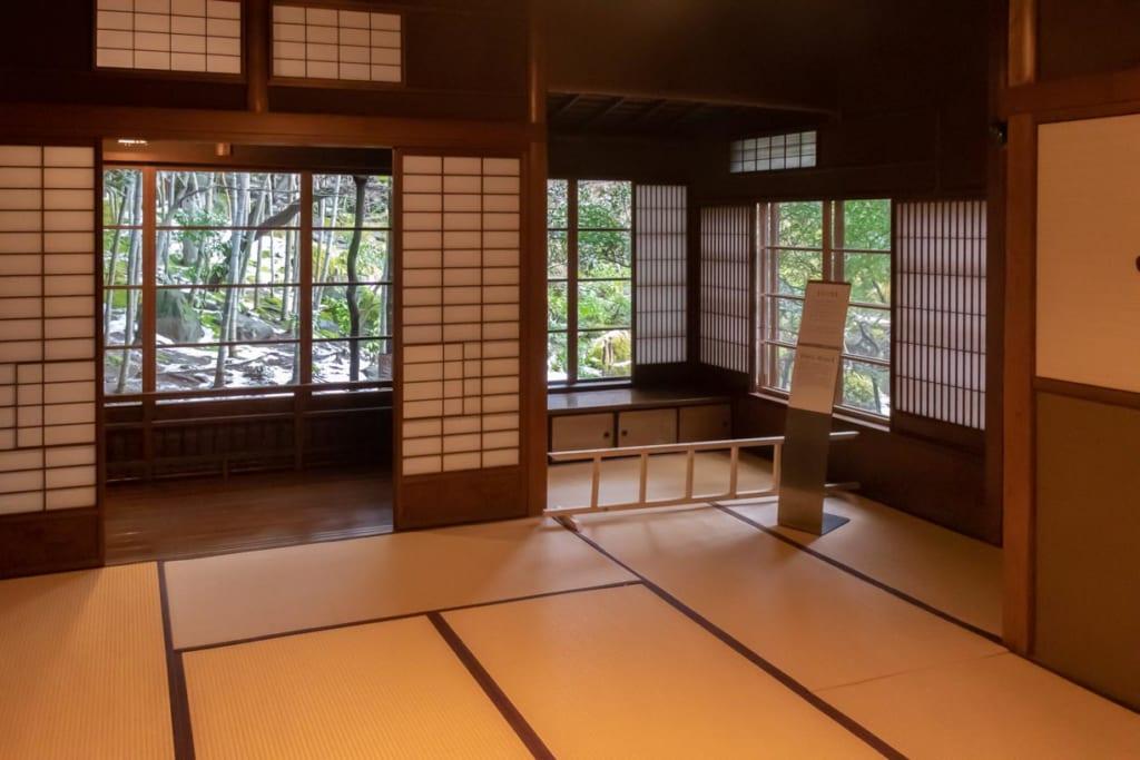 Intérieur de la villa japonaise