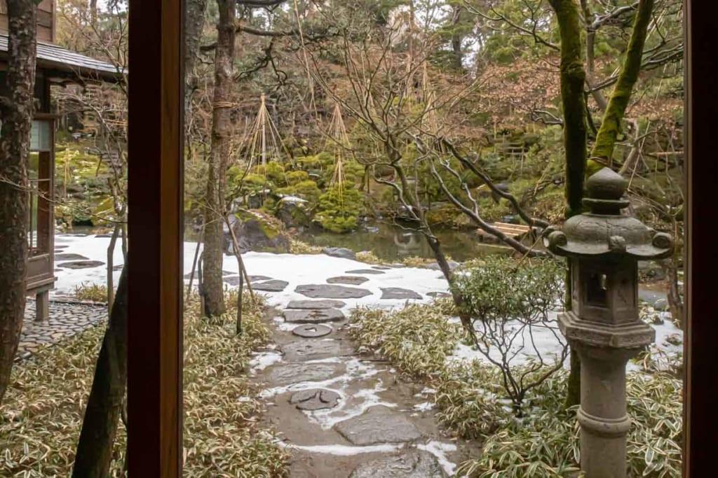 Jardin de la Saito Villa, une villa japonaise
