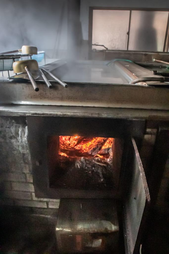 Shiogame atelier fabrication du sel