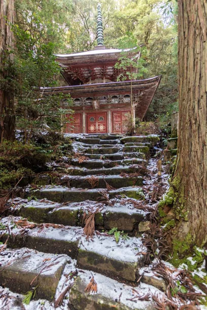 Pagode du temple Chikikuji