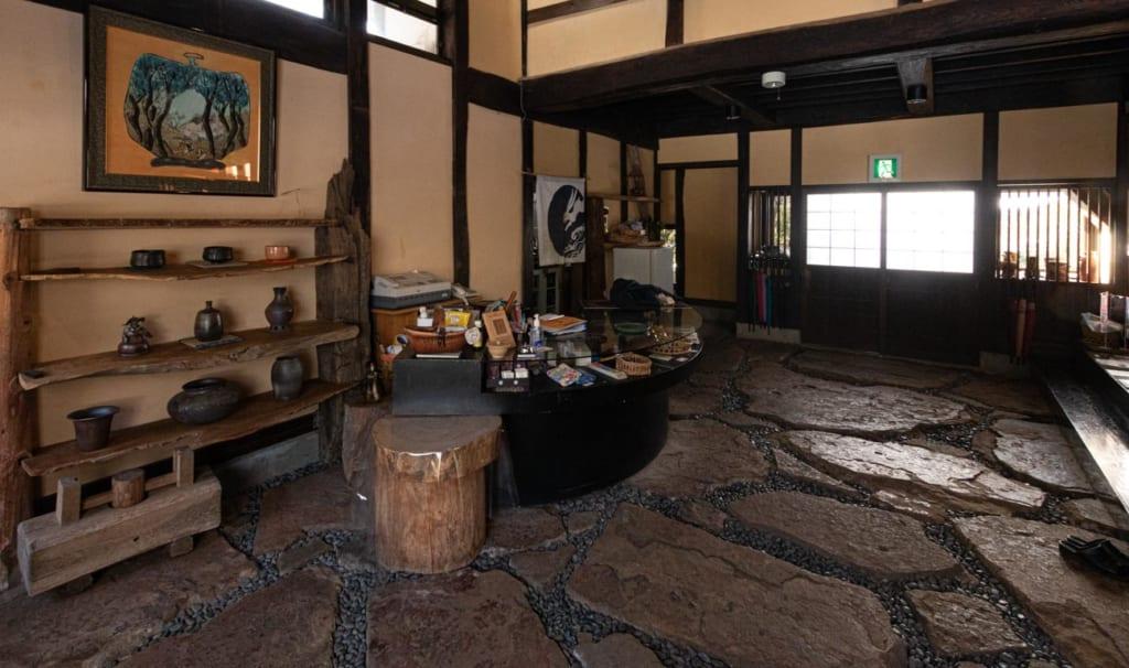Entrée du Ryokan Hananoki