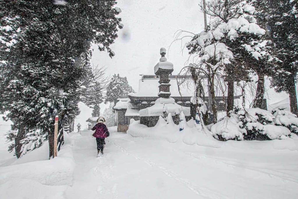 Entrée du temple Dainichibo