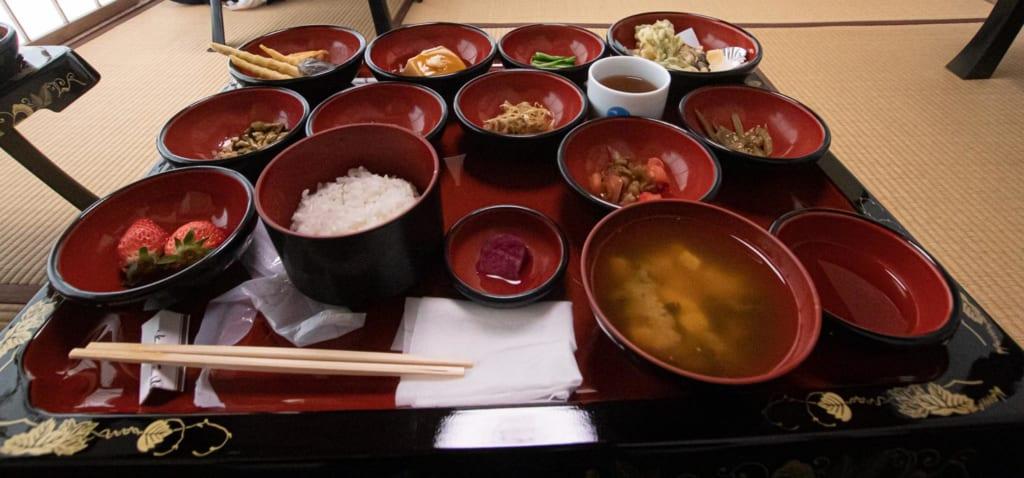 """shôjin ryôri ou """"nourriture de la dévotion"""""""