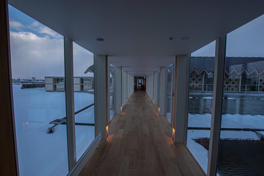 Couloir de l'hotel Suiden Terrasse