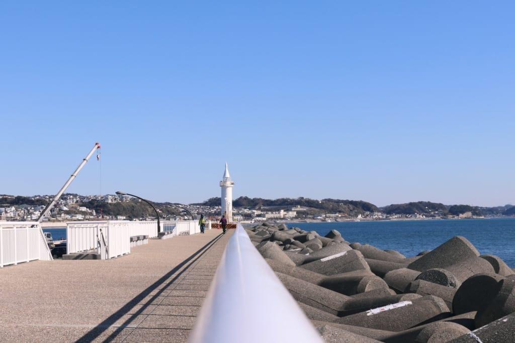 le port où se tiendront certaines épreuves des jeux olympiques de tokyo