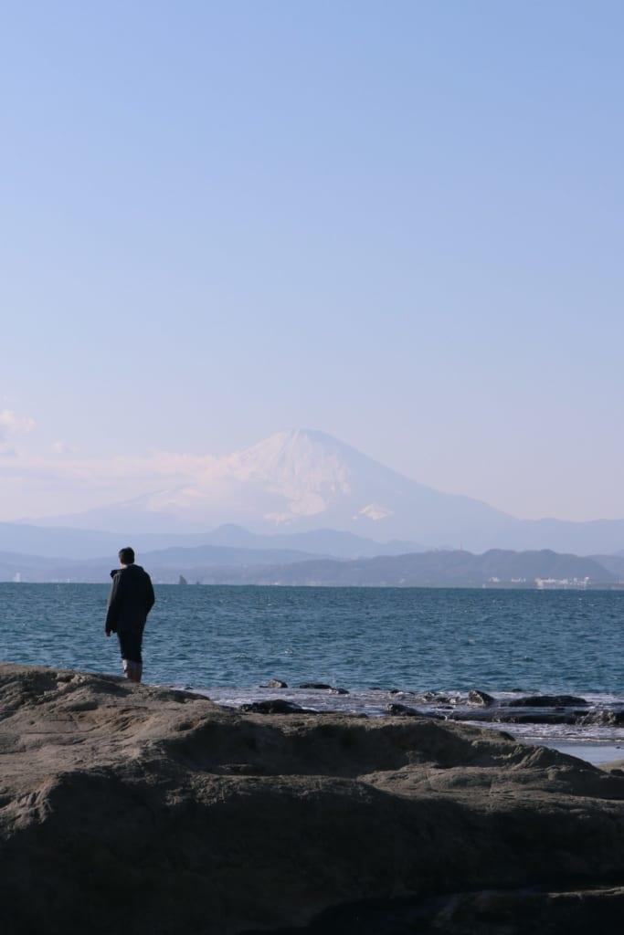 Le Mont-Fuji vu depuis chigogafuchi