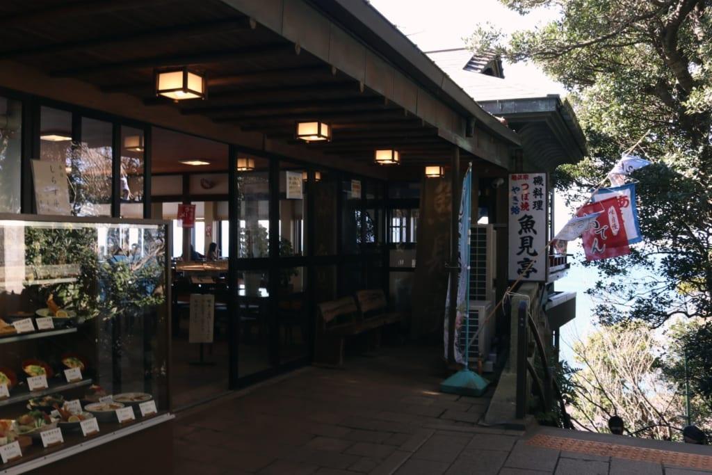 le restaurant uomitei à enoshima