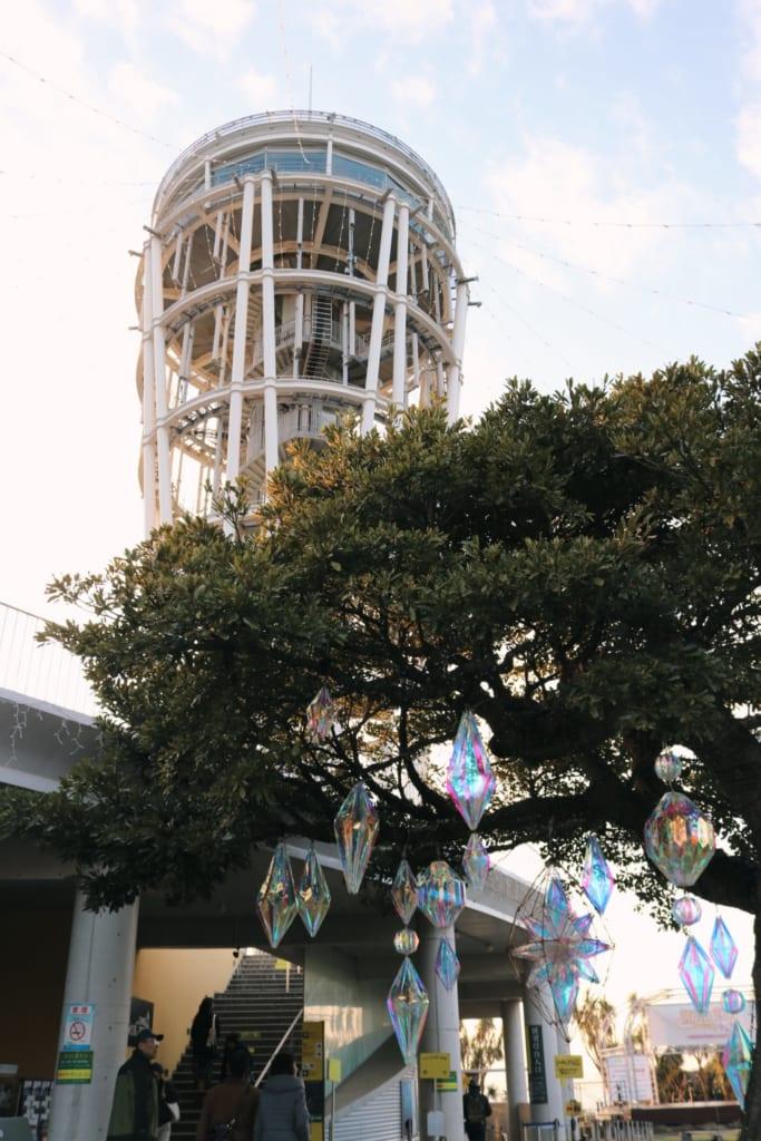 le sea candle, l'observatoire d'enoshima