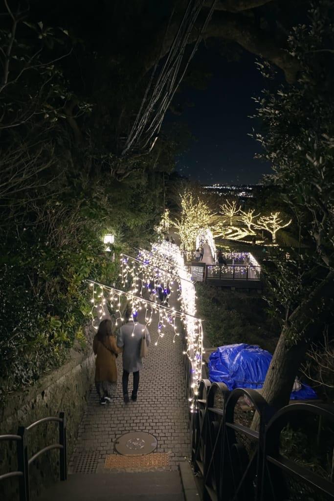 des illuminations ailleur sur l'île