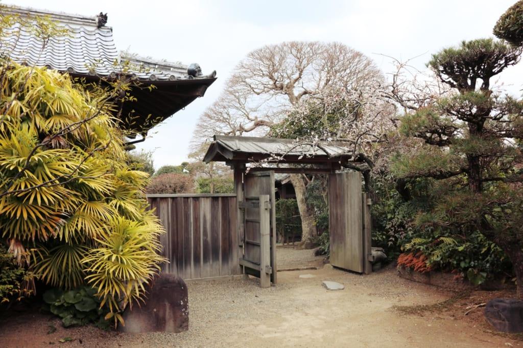 Après la cérémonie du thé, visite de la résidence de samouraï