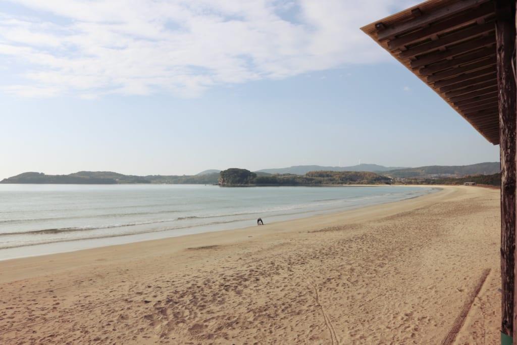 Une des magnifiques plages d'Izumi