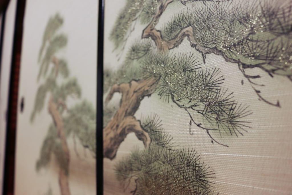tapisserie traditionnelle japonaise