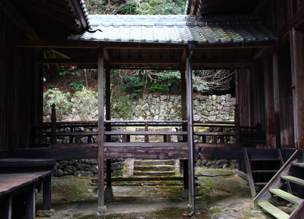 le sanctuaire de soukouchi, à Toon, préfecture d'Ehime, construit en 803