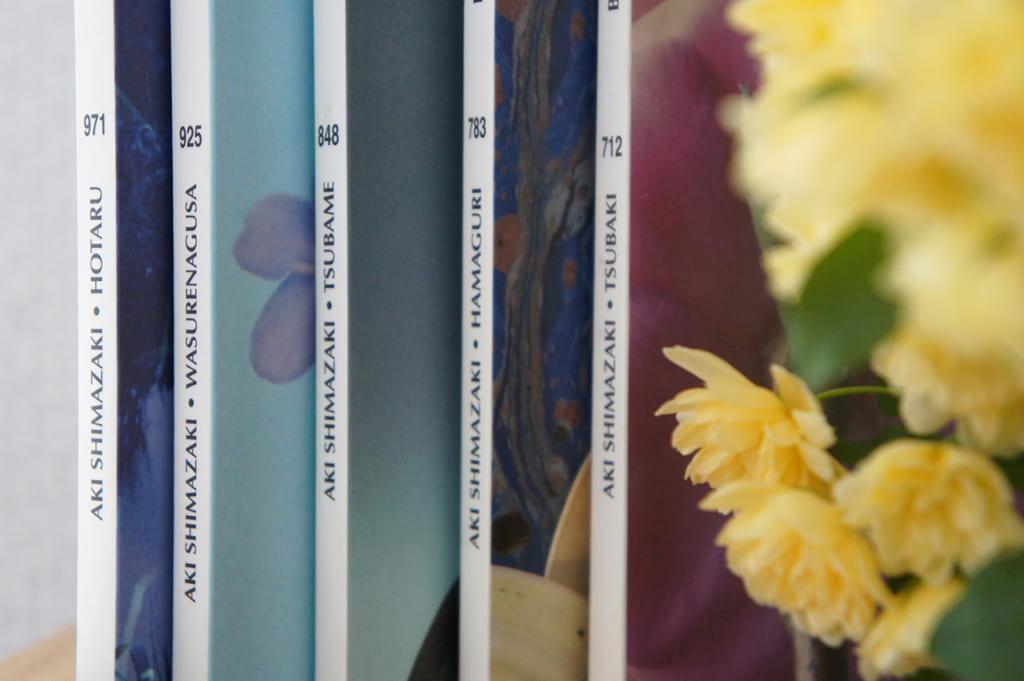 La tranche des 5 livres d'Aki Shimazaki