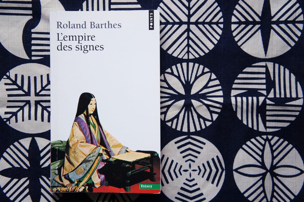 Couverture de L'Empire des Signes de Roland Barthes
