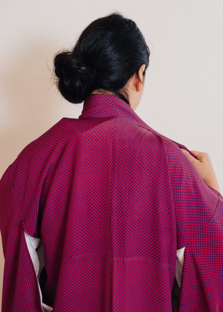 un col de kimono trop serré