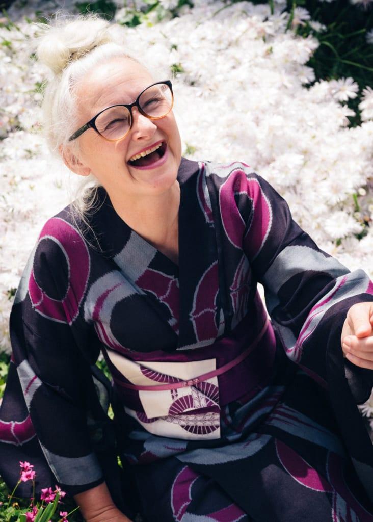 sheila cliffe, experte en kimono