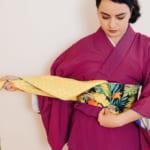 Comment nouer un Obi: le style Hanhaba Bunko