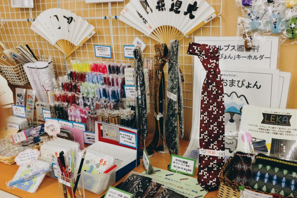 Boutique de go de la Nihon Ki-in à Tokyo