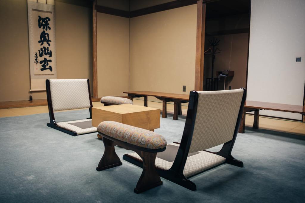 salle des parties importantes de la nihon ki-in