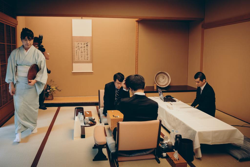 Première partie du tournois du Meijin entre Iyama Yuta et Cho U