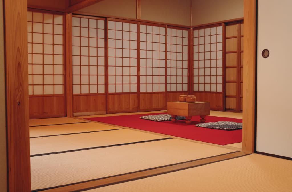 reconstitution de la maison d'enfance de Honinbo Shusaku au musée qui lui est consacré à Onomichi