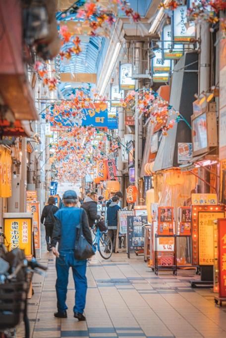 janjan yokocho, une rue rétro à Osaka