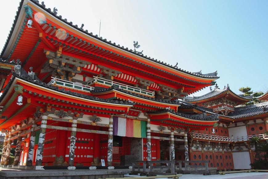 Hall principal du temple Kosanji