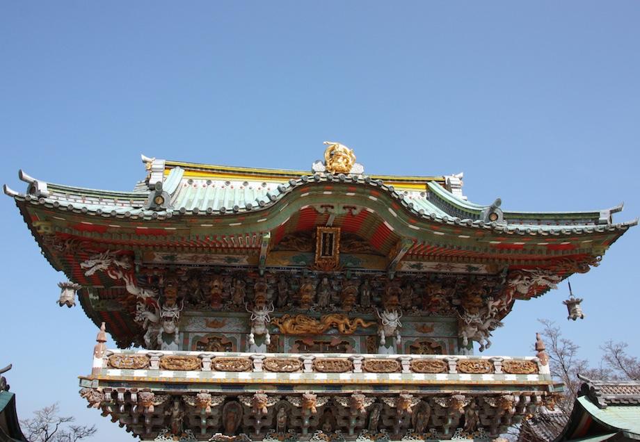 L'immense porte Koyomon, placée juste avant le hall principal du temple Kosanji