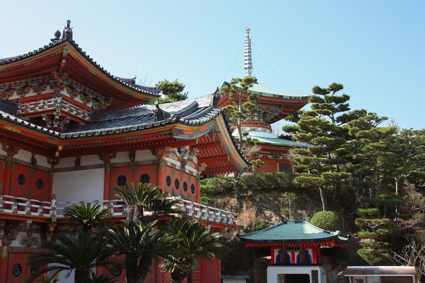 Visite de Kosanji: un temple pas comme les autres à Setouchi