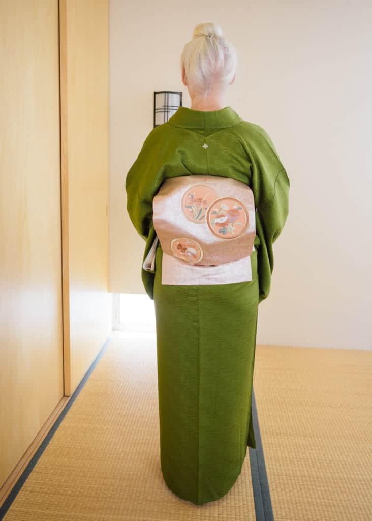 La boucle Taiko d'un Nagoya obi