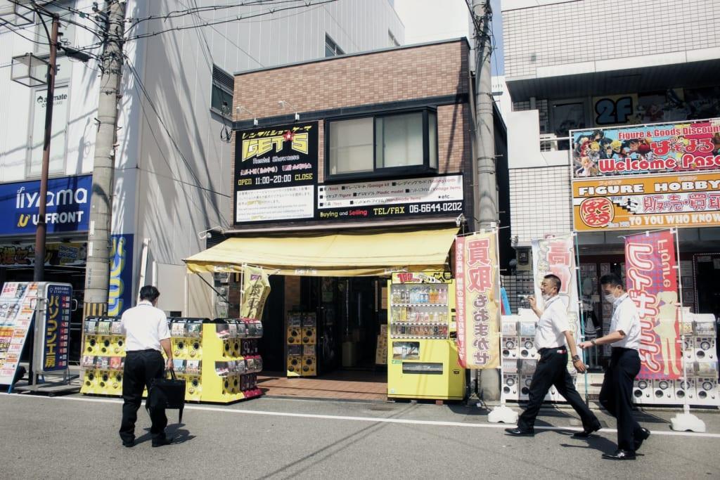 Boutique otaku Gets à Den Den Town Osaka