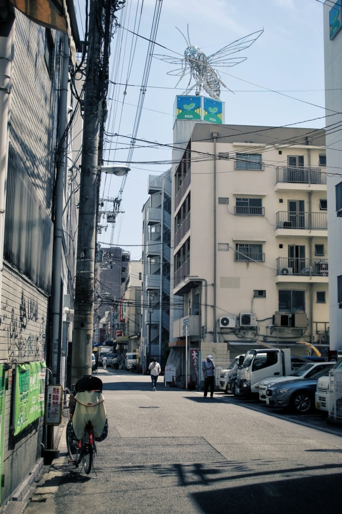 Une ruelle à Osaka
