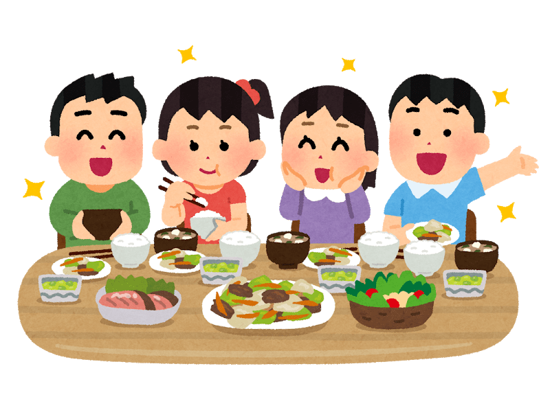 bon appétit en japonais, une expression souvent traduite itadakimasu