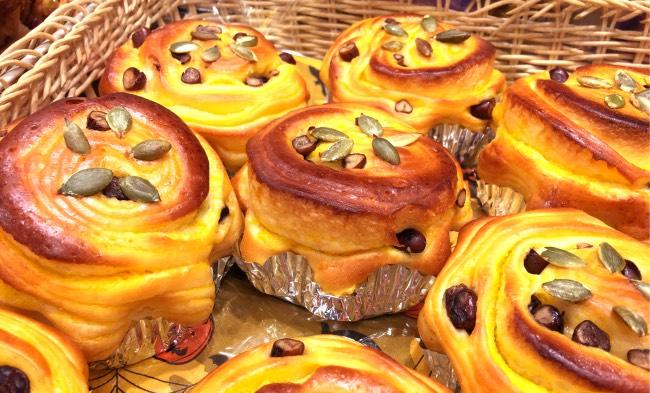 Exemple de brioche vendue dans les boulangeries au Japon