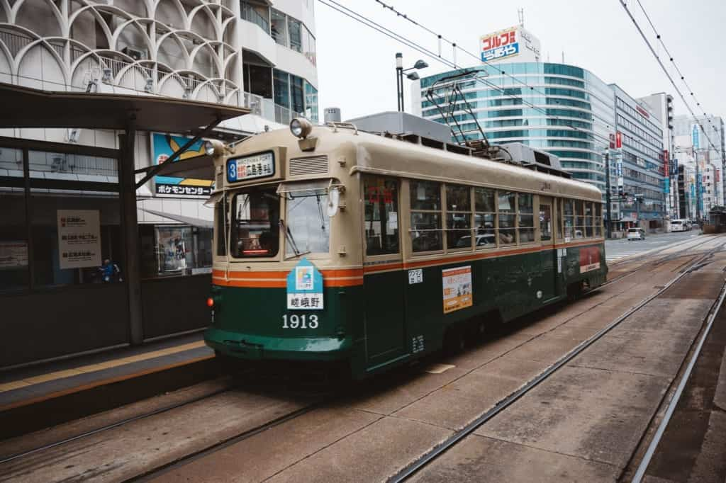 le tramways d'Hiroshima