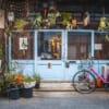 devanture du cafe arabiq à osaka