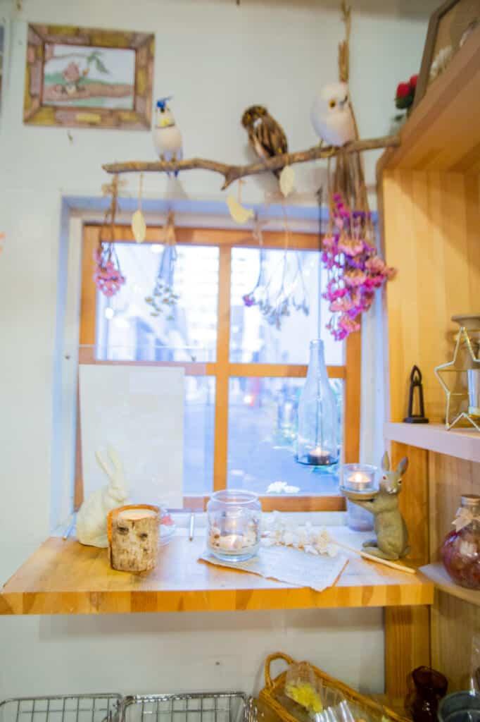 la boutique de bougies artisanales japonaises propose aussi des ateliers