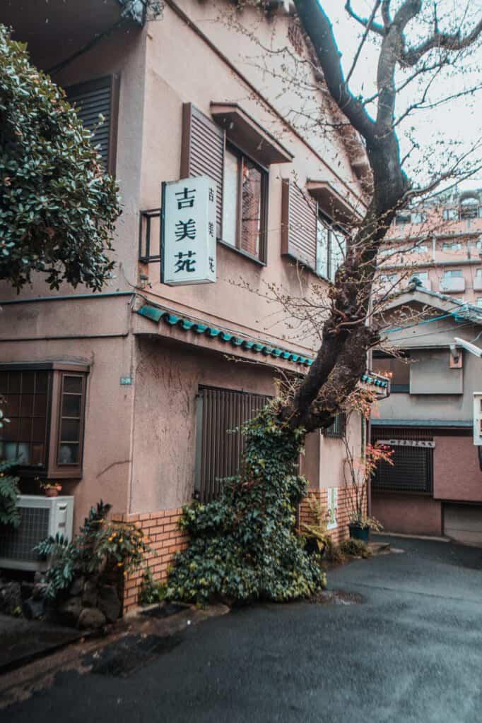 le quartier nakazakicho rappelle l'époque showa