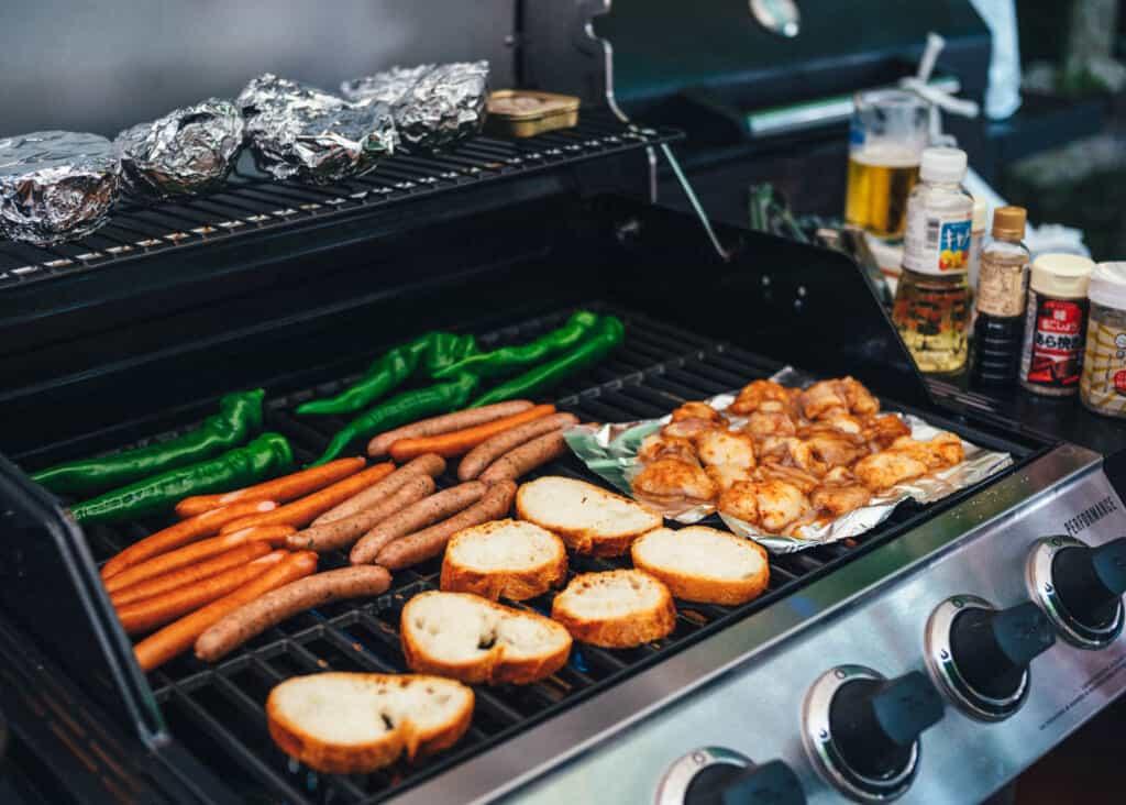 un barbecue au Japon