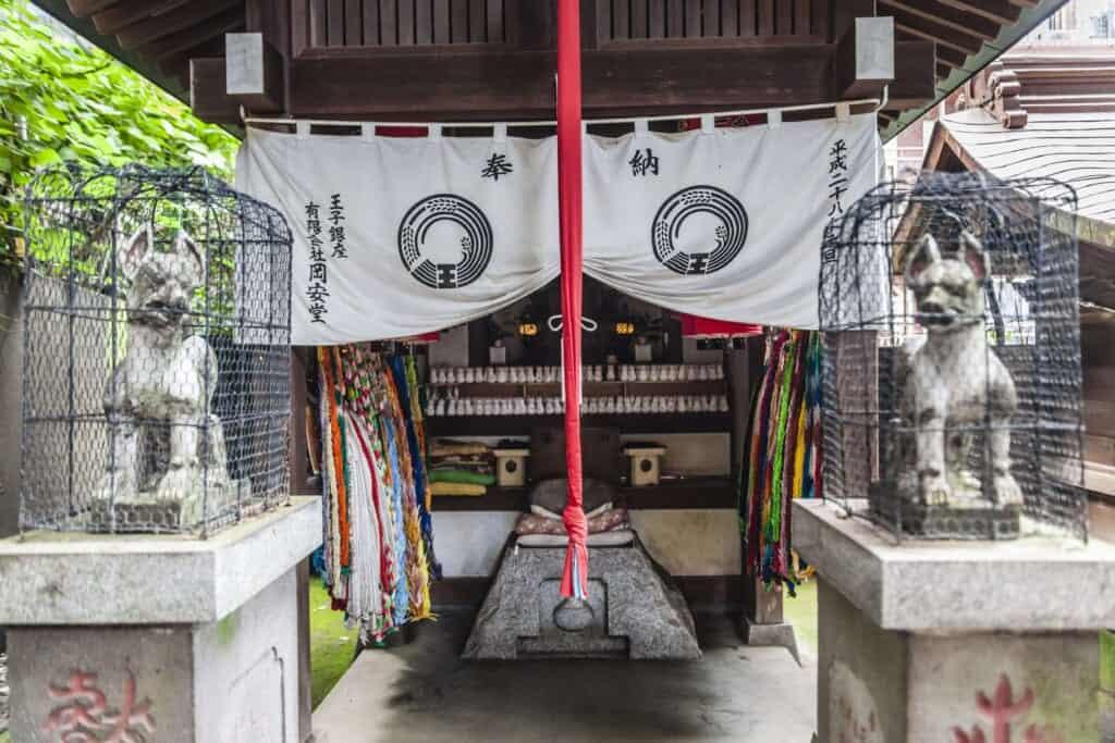 Un très vieux sanctuaire japonais à Tokyo