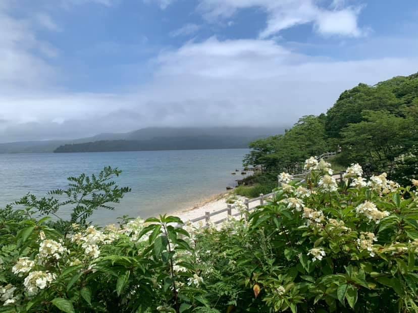 le lac Akan à Hokkaido