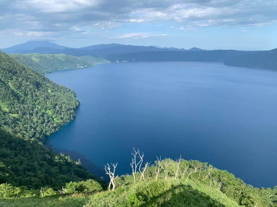 Le lac Mashu à Hokkaido