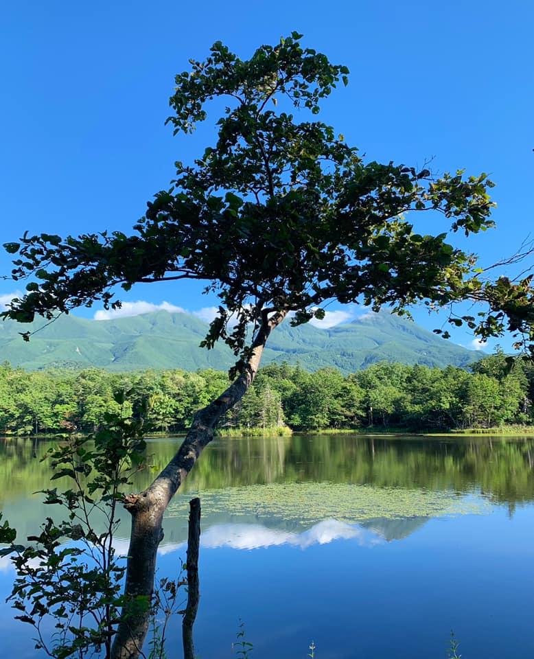 la région des cinq lacs de la péninsule de shiretoko